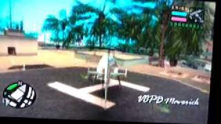 GTA vice city stories PS2 where to get a helicopter