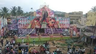 Mass movie celebration in Sri Balaji theater. By Surya fans club hosur