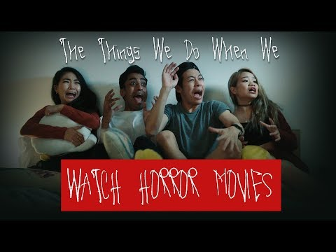 How People React to Horror Movies