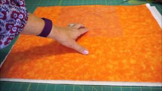 Video Tutorial of Making Quilting Stencils