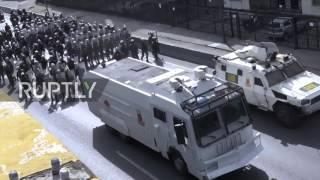 Venezuela: Molotov cocktails fly in Caracas as violent protests continue