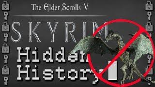 The Hidden History of SKYRIM Cut Content