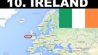 Top 10 Most Peaceful Countries in Europe
