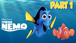 Disney Finding Nemo Movie Video Game PART 1 - Full Disney Game for Kids