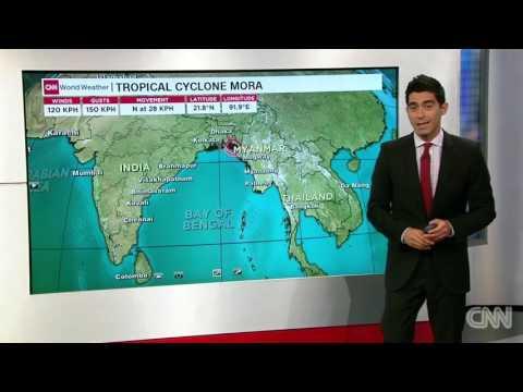 Areas of Bangladesh under threat as cyclone hits