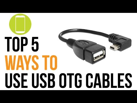 Top 5 Ways to use USB OTG Android