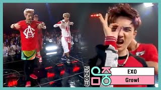 [HOT] EXO - Growl, 엑소 - 으르렁, Music core 20130831
