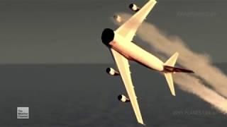 TWA Flight 800 - Crash Animation 3