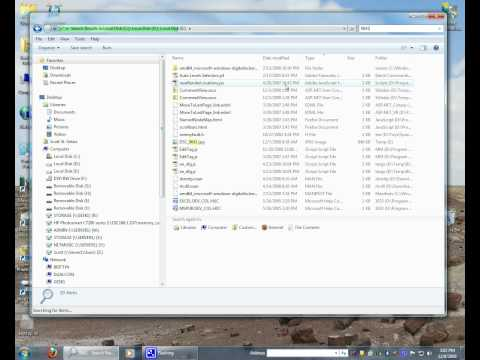 Search and find a file or folder in Windows 7.avi