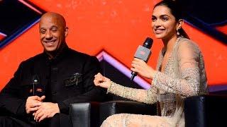 Deepika Padukone's first meeting with Vin Diesel | INTERVIEW
