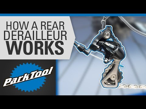 How a Rear Derailleur Works