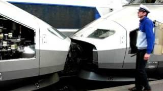 Séparation de TGV, Gare de Bordeaux St Jean