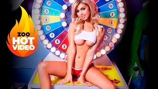 Playboy model Anika Shay's racy arcade shoot EXCLUSIVE for ZOO WEEKLY | ZOO Blondes