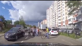 2016 Road Rage and Car Car Compilation #1 -  Crazy Traffic Fight and Accident
