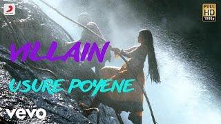 Villain - Usure Poyene Telugu Lyric | A.R. Rahman | Vikram, Aishwarya Rai