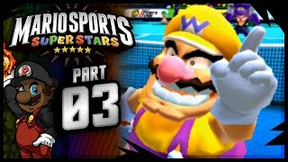 "Mario Sports Superstars - Tennis Gameplay | ""WALUIGI, THIS IS WHY YOU SUCK."""