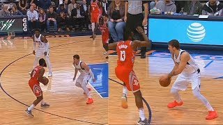 James Harden Shows Luka Doncic He Can