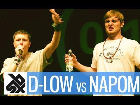 NAPOM vs D-LOW  |  Shootout Beatbox Battle 2017  |  SEMI FINAL