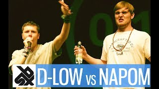 NAPOM vs D-LOW  |  Shootout Beatbox Battle 2017  |  SEMI FINAL