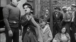 Very funny fight- Charlie chaplain comedy.
