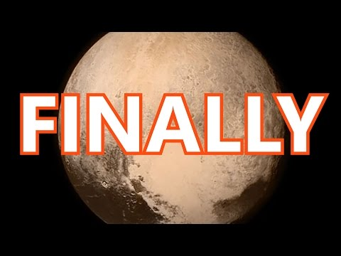 PLUTO FLYBY LATEST IMAGES / NASA