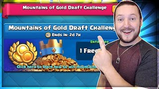 Mountains of Gold Challenge - Live - Clash Royale
