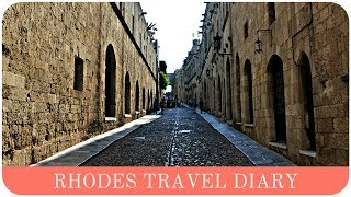 Rhodes: Travel Diary | Greece | The Life Lab.