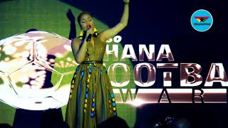 Adina performs 'makoma' at Ghana Football Awards