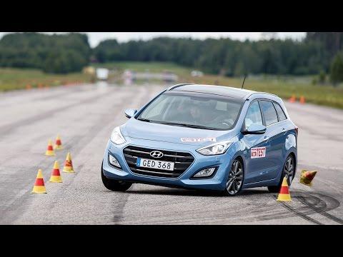 Hyundai i30 Wagon 2015 moose test Poor result
