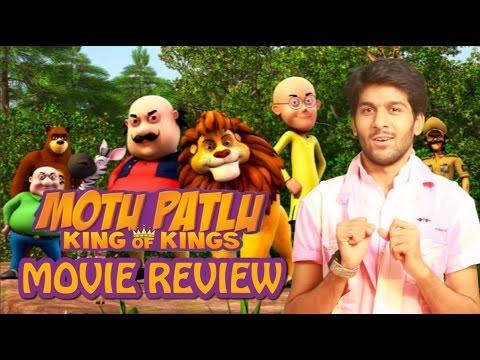 Motu Patlu King of Kings 3D Movie Tamil Review By Review Raja - Suhas D. Kadav, Vishal Bharadwaj