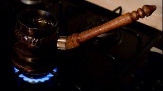 Turkish coffee pot handle (Drill Press accessories test)