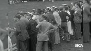 1932 U.S. Open Highlights