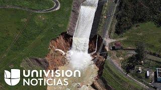 Gobernador de Puerto Rico y autoridades locales se contradicen sobre represa Guajataca