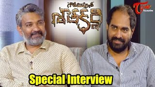 Rajamouli Interviews Krish || GPSK Special Interview