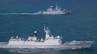 Les marines chinoise et fran aise participent à un exercice