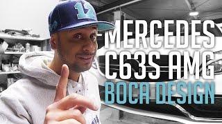 JP Performance - Mercedes C63S AMG | Boca Design Carbon Parts