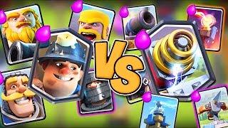 MAN VS MACHINE :: Clash Royale :: CHALLENGE GAMEPLAY