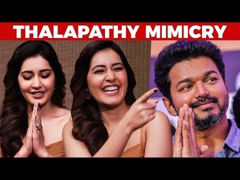 Xxx Mp4 Thalapathy Vijay MIMICRY Performance By Raashi Khanna US 250 3gp Sex