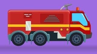 Fire Truck | Formation And Uses | Video For Kids