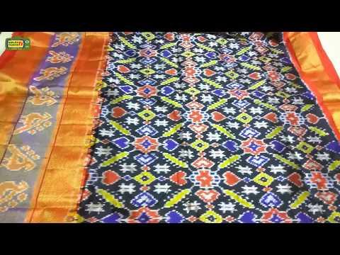 Ikat Patola Silk Sarees Online Shopping || Latest Ikkat Pattu Sarees || pochampally ikkath silk