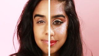 Women Try Festival-Inspired Makeup For A Day