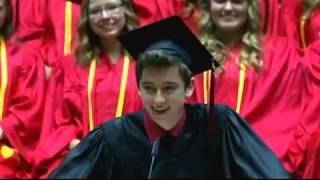 Best HS Graduation Speech Ever! Weber High Graduation 2015