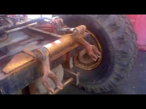 Как сделать на самодельный трактор гидравлику