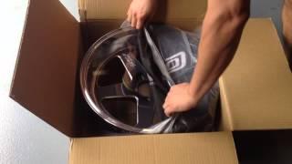 Cosmis Racing Wheels XT-005R 18x10 +20 unboxing
