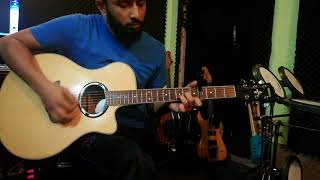 Shimanar Shohor -  HeartzRelation -  Acoustic Guitar Chords -  Phone camera video