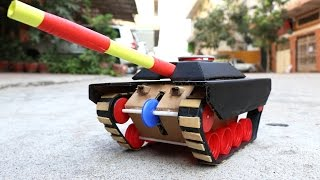 Wow! Super Tank Out of Paper with 9v Battery DIY