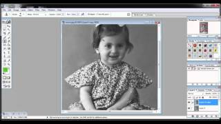 Adobe Photoshop7.0 Tutorials Video in Hindi Part 19 of 24 Project 3 How to Repair a Damaged Photo