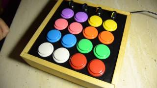 Build arduino MIDI controller with arcade buttons.