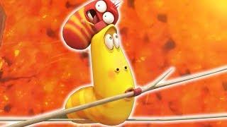 LARVA - LAVA CHALLANGE | Cartoon Movie | Cartoons For Children | Larva Cartoon | LARVA Official