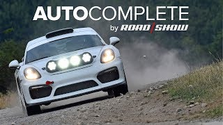AutoComplete: Porsche built the rally-spec Cayman GT4 of our dreams